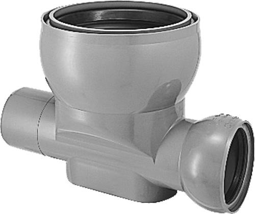 下水道関連製品>ビニホール>傾斜対応型ビニホール 300 KFVHF150-300シリーズ KFVHF-45Y右150-300 Mコード:46532 前澤化成工業