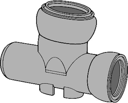 下水道関連製品>ビニホール>傾斜対応型ビニホール 300 KF15VHF250-300 KF15VHF-ST250-300 Mコード:46853 前澤化成工業