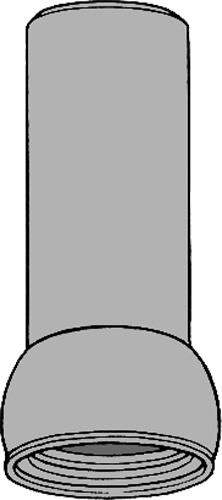 下水道関連製品>ビニホール>ビニホール用立上り管 300 立上り管MVF300(Z寸) MVF300X1.1Z Mコード:47569 前澤化成工業