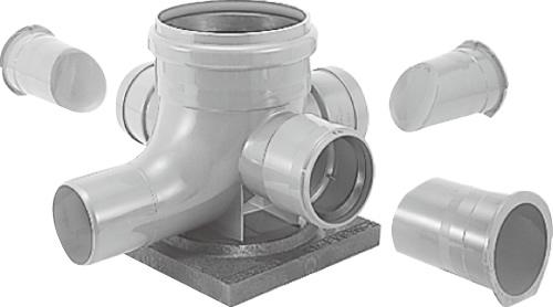 下水道関連製品>公共マス>KD-200型 KDC-90WY KDC90WY100P100R200台付 Mコード:48098 前澤化成工業