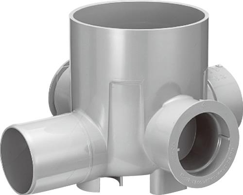 下水道関連製品 公共マス KM-200型 KM -90WY KM-90WY150SX100-200 Mコード:48140 前澤化成工業