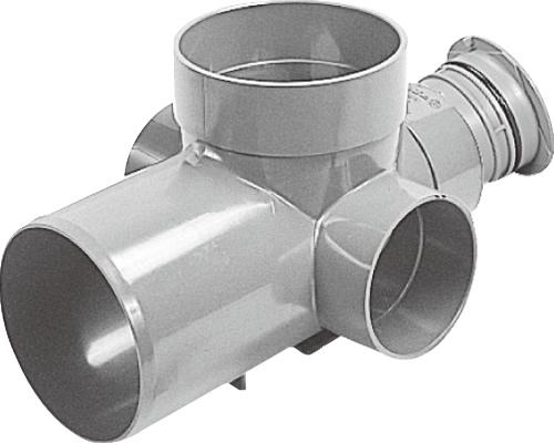下水道関連製品>公共マス>KM-150型 KMC-90WY KMC-90WY150SX100-150 Mコード:48146 前澤化成工業