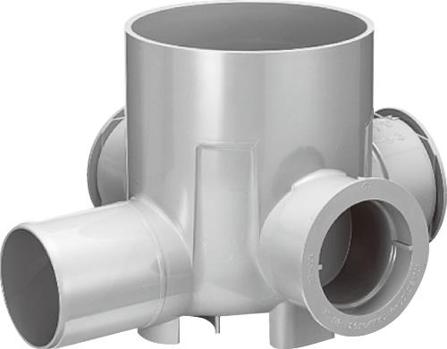 下水道関連製品>公共マス>KM-200型 KMC-90WY KMC-90WY150SX100-200 Mコード:48148 前澤化成工業