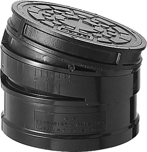 下水道関連製品>蓋>鋳物蓋シリーズ CDRKA-AO-R CDRKAAOR200鎖 Mコード:51258 前澤化成工業
