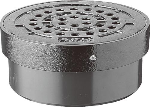 下水道関連製品>蓋>雨水マス用蓋 鉄蓋UMCD/格子鉄蓋UMCDK UMCDDKオス 300 Mコード:51368 前澤化成工業
