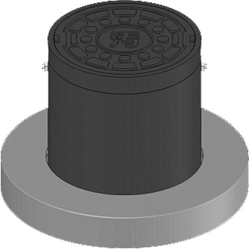 下水道関連製品>防護蓋>150シリーズ T8Bタイプ BH-T8B150VE^ウスイカンジ Mコード:60416 前澤化成工業