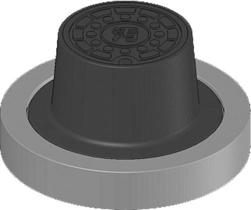 下水道関連製品>防護蓋>150シリーズ T14Aタイプ BHK-T14A150 Mコード:60498 前澤化成工業