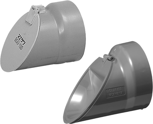 下水道関連製品 排水特殊継手 防臭弁/防臭逆止弁 防臭逆止弁 (VU用) BGU BGUA150P Mコード:71302 (前澤化成工業、積水、東栄管機 他) 配管部品,管材