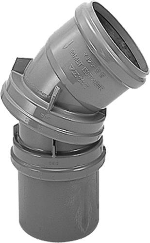 下水道関連製品 下水道継手 マルチ曲管 マルチ曲管50シリーズ 50MLP150PX150R Mコード:76553 (前澤化成工業、積水、東栄管機 他) 配管部品,管材
