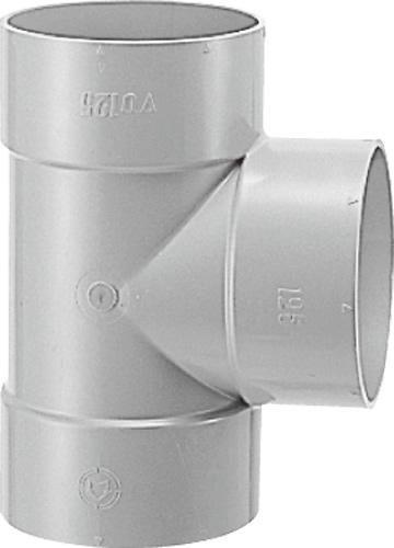 下水道関連製品 DV継手/VU継手 VU継手 VU90゜Y VUDT200X125 Mコード:76960 (前澤化成工業、積水、東栄管機 他) 配管部品,管材