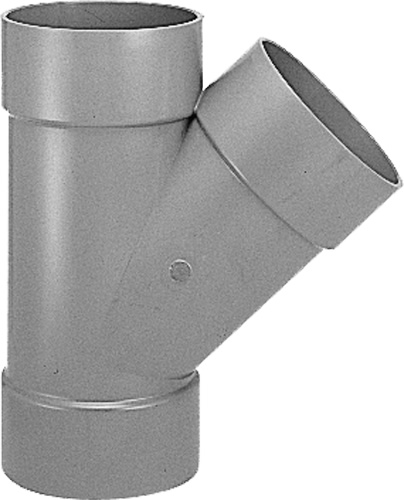 下水道関連製品>DV継手/VU継手>VU継手 VU45゜Y VUY200X150 Mコード:76984 (前澤化成工業、積水、東栄管機 他)配管部品,管材