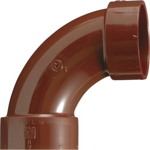 下水道関連製品 排水特殊継手 VP耐熱継手 HTVP大曲りエルボ HTVPL HTVPLL100 Mコード:77515 (前澤化成工業、積水、東栄管機 他) 配管部品,管材
