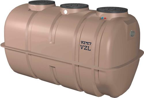 環境機器関連製品 浄化槽 マエザワ浄化槽 放流ポンプ付 VZL型 21~50人槽 T-2 VZL40 HPツキT2 100-60 Mコード:80282N 前澤化成工業