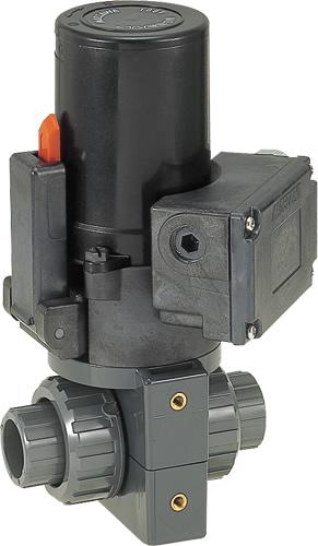 その他製品>MSバルブ>電動ボールバルブ TS式100V/VBET VBET15-100B Mコード:86203 前澤化成工業