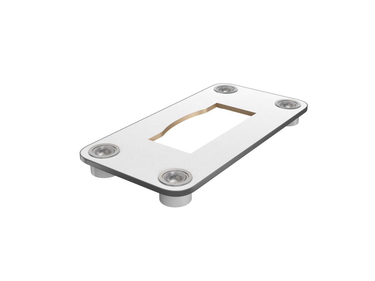 BT-F60AD-W 三菱喫煙用集塵・脱臭機/スモークダッシュ テーブル板 奥行60cm 灰皿あり 換気扇