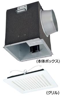 AT-100TQEF2-ST65 メルコエアテック 室内用 電動給気シャッター (天井埋込タイプ・フィルター付) AT100TQEF2ST65 [代引不可]