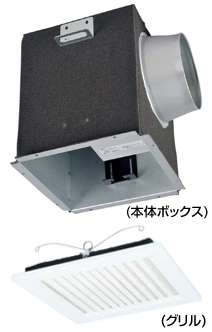 AT-100TQEF2-ST82 メルコエアテック 室内用 電動給気シャッター (天井埋込タイプ・フィルター付) AT100TQEF2ST82 [代引不可]