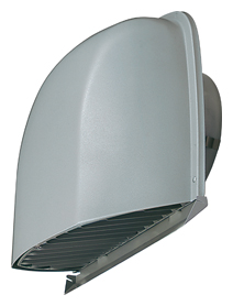 AT-125SGSD4 メルコエアテック 外壁用 (ステンレス製) 防音形フード (不燃・耐湿タイプ)  縦ギャラリ AT125SGSD4 [代引不可]