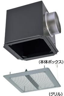 AT-150NFB-ST メルコエアテック 外壁用 (鋼板製) 軒天フード (軒天井埋込タイプ) AT150NFBST [代引不可]