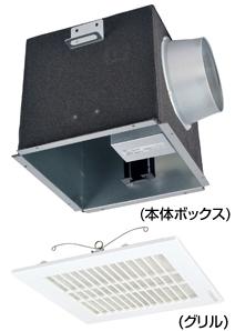 【AT-150TQEWF-ST】 メルコエアテック 室内用 電動給気シャッター(天井埋込タイプ・ワイドグリル・フィルター付) 【AT150TQEWFST】 【代引き不可】
