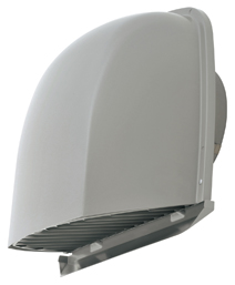 AT-200FGSD4 メルコエアテック 外壁用 (ステンレス製) 深形フード (ワイド水切タイプ) |縦ギャラリ AT200FGSD4 [代引不可]