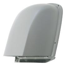 AT-200FWS4SO メルコエアテック 外壁用 (ステンレス製) 深形フード (パイプガイドなし)  縦ギャラリ・網 AT200FWS4SO [代引不可]