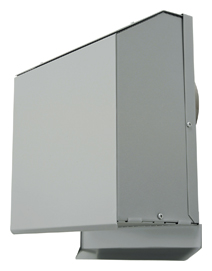 AT-200LNS4-3M メルコエアテック 外壁用 (ステンレス製) 超深形フード|網 AT200LNS43M [代引不可]