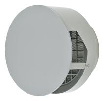 【AT-200TBNSD】 メルコエアテック 外壁用(ステンレス製) 耐外風ベントキャップ(壁汚れ低減タイプ)|ギャラリ・網 【AT200TBNSD】 【代引き不可】