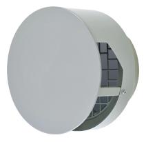 【AT-200TBSD】 メルコエアテック 外壁用(ステンレス製) 耐外風ベントキャップ(壁汚れ低減タイプ) ギャラリ 【AT200TBSD】 【代引き不可】