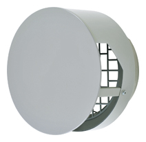 AT-200TBSJ メルコエアテック 外壁用 (ステンレス製) 耐外風ベントキャップ (壁汚れ低減・ワイド水切タイプ) |ギャラリ AT200TBSJ [代引不可]