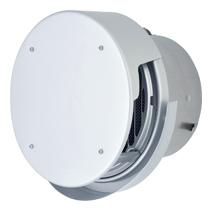 AT-200TCWAJD メルコエアテック 外壁用 (アルミ製) 丸形防風板付ベントキャップ (覆い付・ワイド水切タイプ) |縦ギャラリ・網 AT200TCWAJD [代引不可]