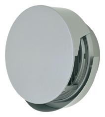 AT-200TCWSJ4 メルコエアテック 外壁用 (ステンレス製) 丸形防風板付ベントキャップ (覆い付・ワイド水切タイプ) |縦ギャラリ・網 (75~200タイプ) 横ギャラリ・網 (250・300タイプ) AT200TCWSJ4 [代引不可]