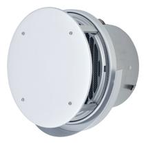 【AT-200TUWAJD】 メルコエアテック 外壁用(アルミ製) 丸形防風板付ベントキャップ(ワイド水切タイプ)|縦ギャラリ・網 【AT200TUWAJD】 【代引き不可】