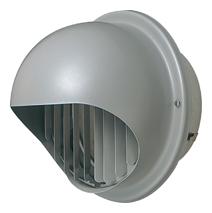 【AT-250MGS5】 メルコエアテック 外壁用(ステンレス製) 丸形フード|縦ギャラリ 【AT250MGS5】 【代引き不可】