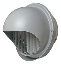 【AT-250MGSJ5】 メルコエアテック 外壁用(ステンレス製) 丸形フード(ワイド水切タイプ) 縦ギャラリ 【AT250MGSJ5】 【代引き不可】
