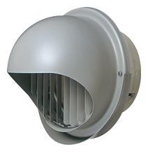 【AT-250MGSJD5】 メルコエアテック 外壁用(ステンレス製) 丸形フード(ワイド水切タイプ)|縦ギャラリ 【AT250MGSJD5】 【代引き不可】
