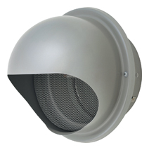 【AT-250MNSD5】 メルコエアテック 外壁用(ステンレス製) 丸形フード|網 【AT250MNSD5】 【代引き不可】