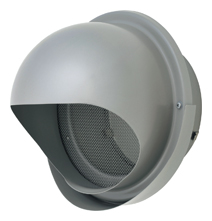 【AT-250MNSJ5】 メルコエアテック 外壁用(ステンレス製) 丸形フード(ワイド水切タイプ) 網 【AT250MNSJ5】 【代引き不可】
