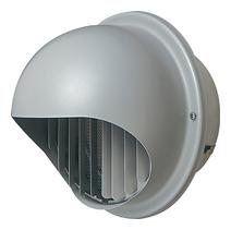 AT-250MWS5 メルコエアテック 外壁用 (ステンレス製) 丸形フード|縦ギャラリ・網 AT250MWS5 [代引不可]