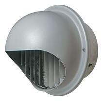 AT-250MWSD5 メルコエアテック 外壁用 (ステンレス製) 丸形フード|縦ギャラリ・網 AT250MWSD5 [代引不可]