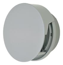 AT-250TCGS メルコエアテック 外壁用 (ステンレス製) 丸形防風板付ベントキャップ (覆い付) |縦ギャラリ (75~200タイプ) 横ギャラリ (250・300タイプ) AT250TCGS [代引不可]