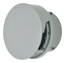 AT-250TCWSD メルコエアテック 外壁用 (ステンレス製) 丸形防風板付ベントキャップ (覆い付) |縦ギャラリ・網 (75~200タイプ) 横ギャラリ・網 (250・300タイプ) AT250TCWSD [代引不可]
