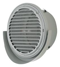 【AT-250UWSJD5】 メルコエアテック 外壁用(ステンレス製) 薄形ベントキャップ(ワイド水切タイプ)|横ギャラリ・網 【AT250UWSJD5】 【代引き不可】