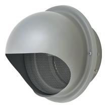 【AT-300MNSD6】 メルコエアテック 外壁用(ステンレス製) 丸形フード|網 【AT300MNSD6】 【代引き不可】