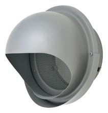 【AT-300MNSJ6】 メルコエアテック 外壁用(ステンレス製) 丸形フード(ワイド水切タイプ)|網 【AT300MNSJ6】 【代引き不可】