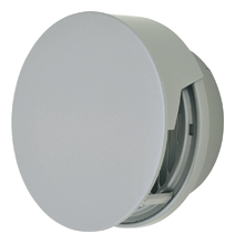 【AT-300TCGS】 メルコエアテック 外壁用(ステンレス製) 丸形防風板付ベントキャップ(覆い付)|縦ギャラリ(75~200タイプ)横ギャラリ(250・300タイプ) 【AT300TCGS】 【代引き不可】