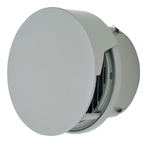 【AT-300TCGSD】 メルコエアテック 外壁用(ステンレス製) 丸形防風板付ベントキャップ(覆い付)|縦ギャラリ(75~200タイプ)横ギャラリ(250・300タイプ) 【AT300TCGSD】 【代引き不可】