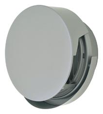 AT-300TCGSJ メルコエアテック 外壁用 (ステンレス製) 丸形防風板付ベントキャップ (覆い付・ワイド水切タイプ) |縦ギャラリ (75~200タイプ) 横ギャラリ (250・300タイプ) AT300TCGSJ [代引不可]