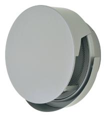 【AT-300TCNSJ】 メルコエアテック 外壁用(ステンレス製) 丸形防風板付ベントキャップ(覆い付・ワイド水切タイプ)|網 【AT300TCNSJ】 【代引き不可】