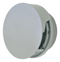 【AT-300TCWS】 メルコエアテック 外壁用(ステンレス製) 丸形防風板付ベントキャップ(覆い付)|縦ギャラリ・網(75~200タイプ)横ギャラリ・網(250・300タイプ) 【AT300TCWS】 【代引き不可】